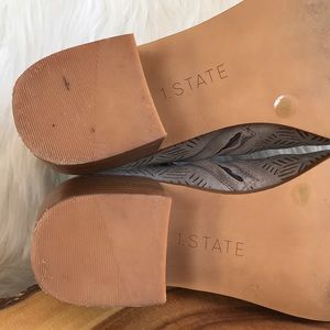 1. State Shoes - 1. State leather side zip booties
